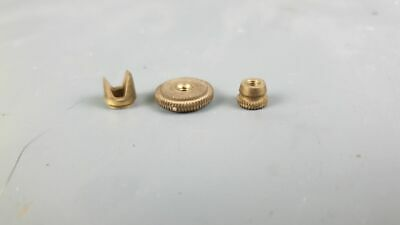 Gustav Becker Screws For Pendulum For 2 Weights Wall Clock P64