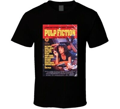 New Hot Pulp Fiction 90's Classic Movie New From Us T Shirt