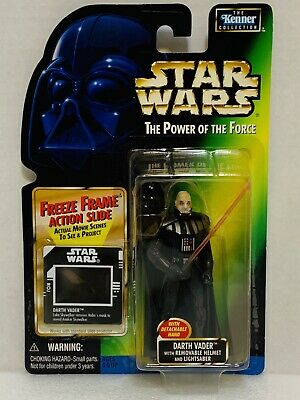 Kenner Hasbro Star Wars Power Of The Force Freeze Frame Darth Vader