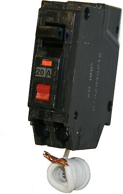 GENERAL ELECTRIC 20AMP 1POLE GROUND FAULT CIRCUIT BREAKER THQL-1120GF