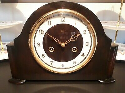 Smiths Enfield ' HARCOURT ' 8 Day Striking Mantel Clock