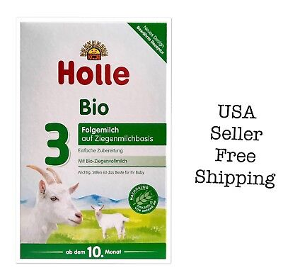Holle Organic Goat Milk Formula Stage3, 4boxes, exp011/2020