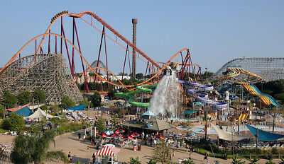Six Flags Discovery Kingdom in Vallejo, California - Two 1-Day Admission Tickets