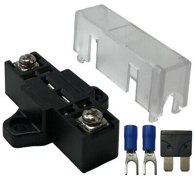 Stack-able In-line Fuse Panel Distribution Block ATO/ATC & ATM/MIN - Car Boat RV