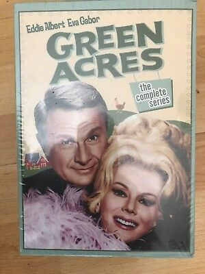 Green Acres The Complete Series 24 DVD Gift Box Set Free Shipping  USA