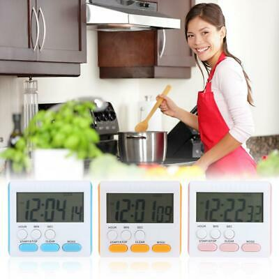 Multi-function Electric LCD Digital Kitchen Timer Alarm Count Up Work Down Clock