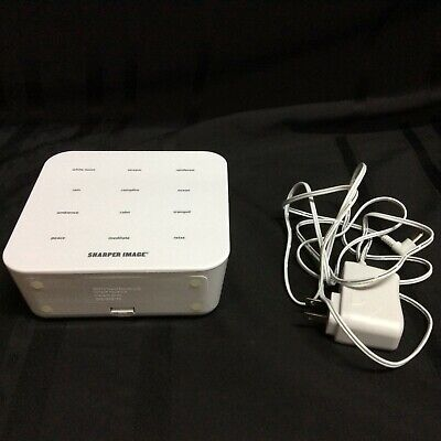 Sharper Image sleep sound machine for adults and baby     ( D 2 )