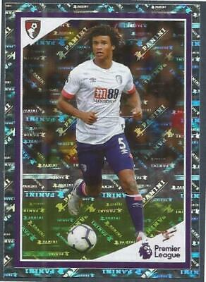 Panini Tabloid Premier League 2019- #020-Bournemouth-Nathan Ake In Action-Foil
