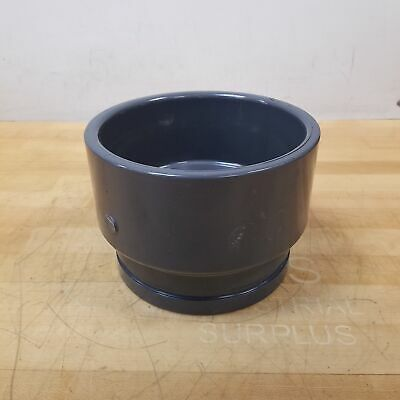 """Spears 833-060 6"""" PVC Grooved Coupling, Schedule 80 (SCH80) - NEW"""