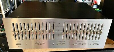 Pioneer SG-9800 Graphic Equalizer good stuff