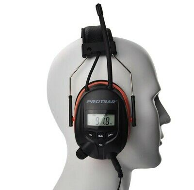 24 HOUR SALE Ear Protectors Radio, Bluetooth and Built in Microphone Defenders