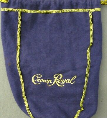 Crown Royal Purple Felt Bag