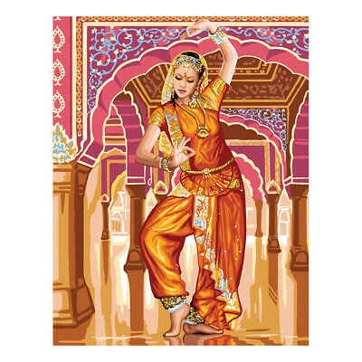 Royal Paris Tapestry Printed Canvas Bollywood Dancer | 98801320226
