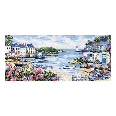 Royal Paris Tapestry Printed Canvas Seaside Landscape | 98801630067
