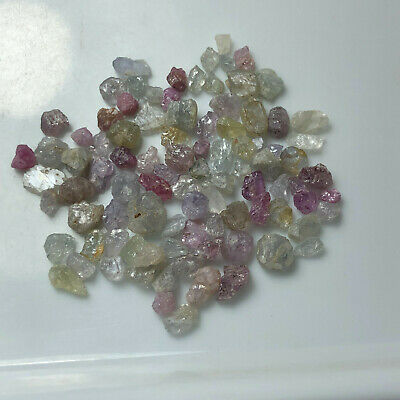 50CT*Natural Raw Crystal Blue Purple  Sapphire  Roug from Madagascar*10.9