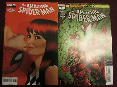 Amazing Spider-Man #31 Lot of 2 (Standard & Mary Jane Variant)