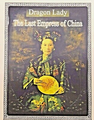 Qing Dynasty Cash Coin of the Last Empress of China In Clear Box With Story Card