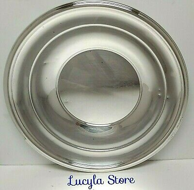 Vintage H295 International Silver Co. Sterling Round Dish Plate 9 inch 135.8g
