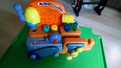 Chicco ABC 123 Toy Work Bench Talking Carpenter English French