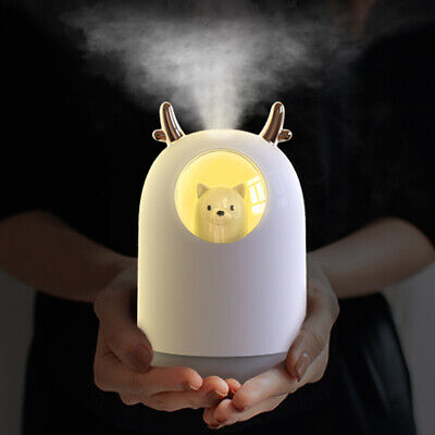 LED Essential Oil Aroma Diffuser Ultrasonic Humidifier Air Aromatherapy Purifier