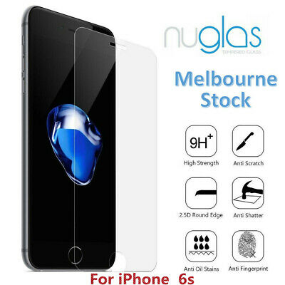 For iPhone 6s Premium NUGLAS Tempered Glass Screen Protector Superior Protect
