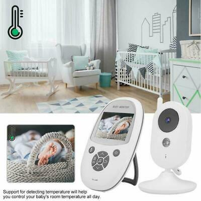 """New 2.4"""" Color LCD Baby Monitor Digital Video Wireless Night Vision Audio Talk"""