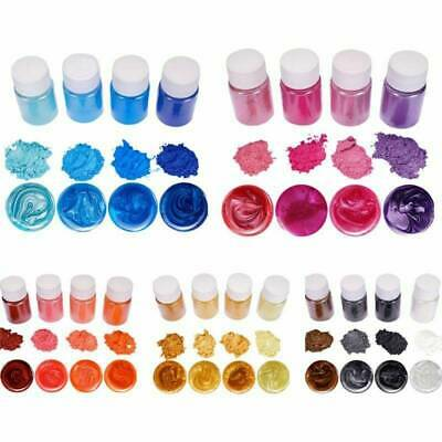 20 Colors Luminous Powder Resin Pigment Dye UV Resin Epoxy DIY Making Jewelry