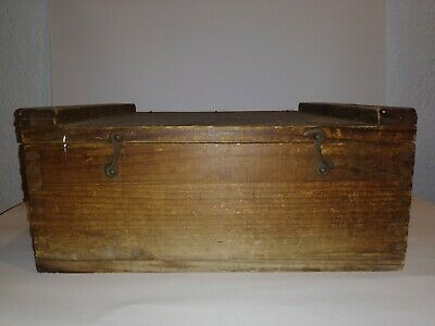 Very Rare Jack Daniel's Wooden Box Whisky antique vintage wood box crate barrel