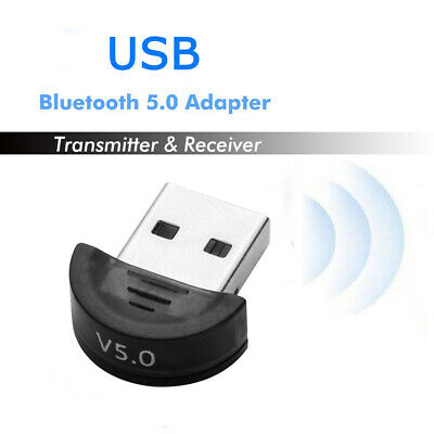 1Pc USB 5.0 Bluetooth Adapter Wireless Dongle High Speed for PC Windows Computer