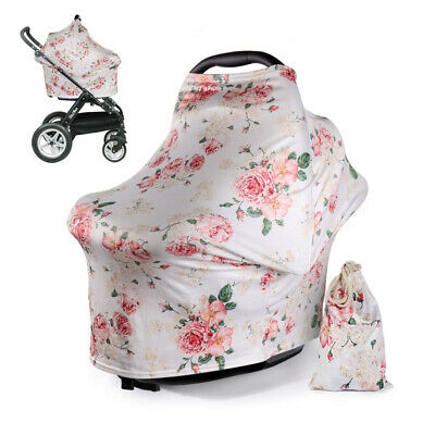 Baby Car Seat Stroller Canopy Sunshade Nursing Breastfeeding Maternity Cover AU
