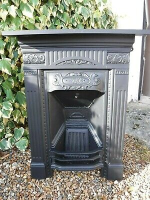 Cast Iron Fireplace Victorian / Edwardian antique fire place ( PAIR AVAILABLE)