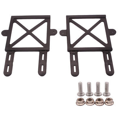 2XCar Frame Holder Screw Mount Motorcycle NO YELLOW L RED GREEN P PLATE INCLUDED