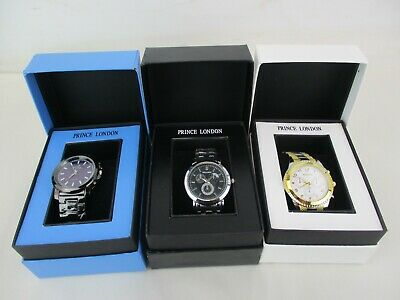 Gent's Prince of London Orlando Wristwatches Various Styles