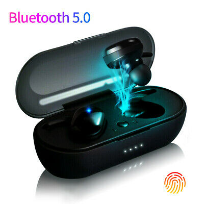Mini TWS Bluetooth Earphone 5.0 Headset Wireless Earbuds Touch Control Stereo