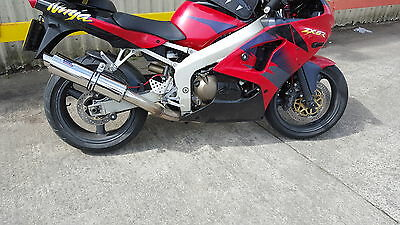 Zontes Panther ZT125-BA Stainless round Road-Legal Performance Motorbike Exhaust