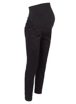 NEW LOOK Black Over Bump Maternity Jeggings, Pregnancy Stretchy Jeans Sizes 8-20