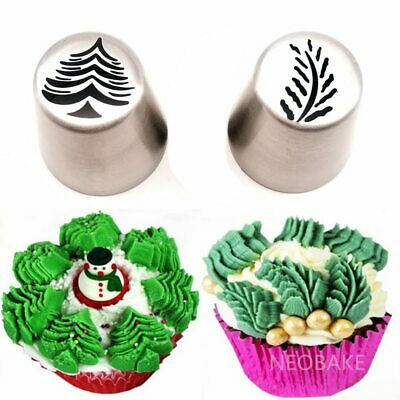 14PCS Christmas Style Nozzle Pastry Kit Cookie Icing Bag Set Tala Cutters GF USA