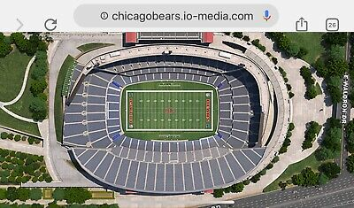 Chicago Bears Vs. New Orleans Saints 2 Tickets In Sec. 438 & Row 5 On Oct. 20