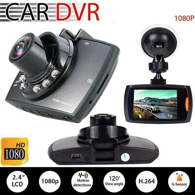 """2.4"""" Dual Car DVR Dashboard Camera Dash Cam 1080P Front and Rear Recorder HS"""