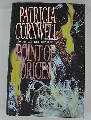 Patricia Cornwell Point Of Origin Hardback Book 1998 First 1st UK Edition