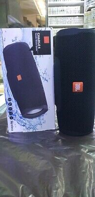 JBL Charge 4 Portable Wireless Bluetooth Speaker - Black