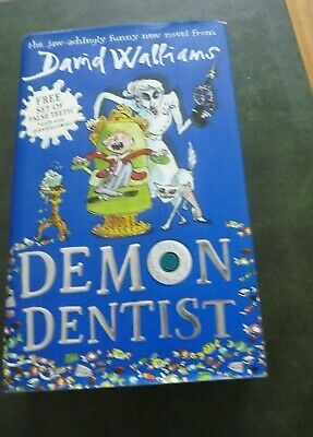 David Walliams Demon Dentist Hardback Book