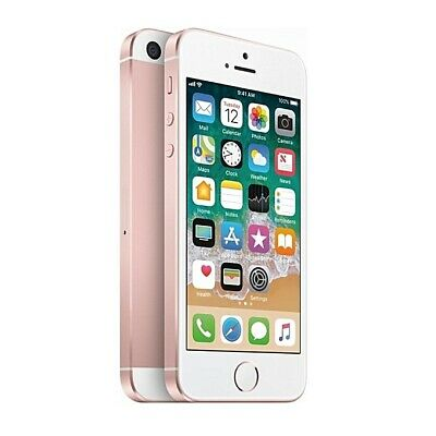 Apple iPhone SE 128GB GSM Unlocked - Rose Gold Smartphone A1662 128 12MP A9 LTE