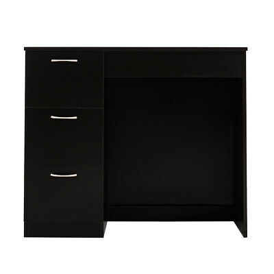 Modern PC Computable Table with 3 Drawers Home Study Desk Office Workstation UK