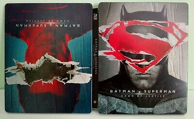 Steelbook Batman Vs Superman Blu Ray Audio Italiano