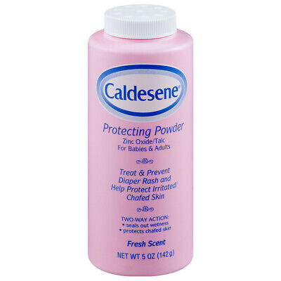 Caldesene (4-Pack) Medicated Protecting Powder Zinc Oxide & Cornstarch 5oz Each