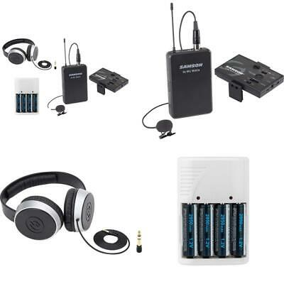 Samson Go Mic Mobile Digital Wireless System with LM8 Lavalier and Belt Pack Tra