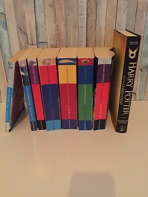 Harry Potter Complete 1-7 & Cursed Child Book Set JK Rowling Bloomsbury
