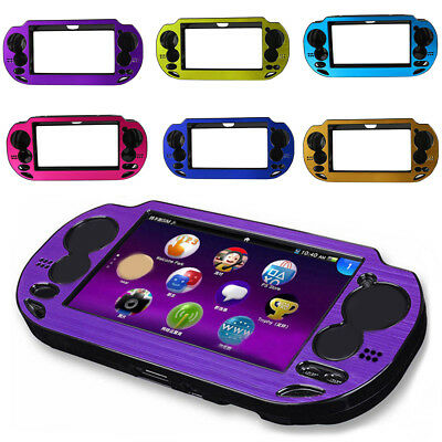 WR_ BU_ Aluminum Protective Cover Case for Sony Playstation PS Vita PSV 1000 Str