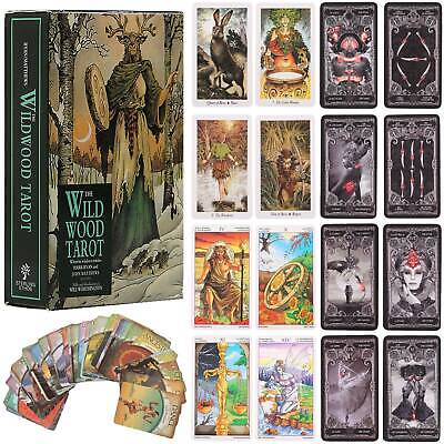 Oracle Card Magic Tarot Deck Cards Future Fate Forecasting Collection Gift Toys